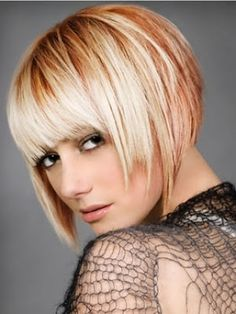 Bob hairstyles are simple, stylish and popular hairstyles. New forms of bob hairstyles are seen and if you have thin and fine hairs then . Medium Hair Cuts, Medium Hair Styles, Short Hair Styles, Bob Styles, Short Bob Haircuts, Haircuts With Bangs, Short Hair With Bangs, Short Hair Cuts, Hair Bangs