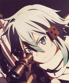 Sword Art Online, GGO, Sinon, Asada Shino