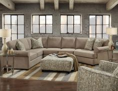 Fusion Furniture 2900 Sectional With Right Cuddler   Pilgrim Furniture City    Sofa Sectional Hartford, Bridgeport, Connecticut