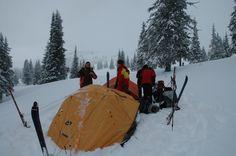 Ski touring, Caliman Mountains, Romania. #greatwalker