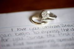 Wedding rings photo by Dennis Felber Photography