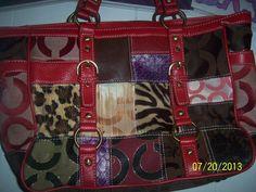 Purse Handbag Womens Fashion Coach by NAESBARGINBASEMENT on Etsy, $40.00