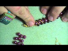 ▶ Right Angle Weave Bracelet - YouTube