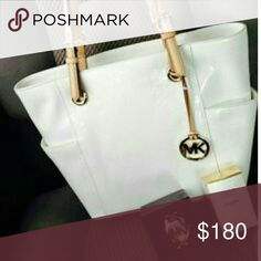 279562380 Original MK purse White, hardly used conditions micheal kors Bags Shoulder  Bags