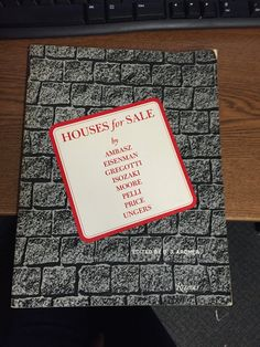 Houses for sale: Architects, Emilio Ambasz, Peter Eisenman, Vittorio Gregotti, Arata Isozaki, Charles Moore, Cesar Pelli, Cedric Price, Oswald Mathias Ungers