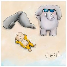 Today's Doodle: Chill.