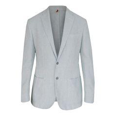 CORNELIANI ID $1,040 gray check cotton linen blazer sport coat jacket 48/58 NEW #Corneliani #TwoButton