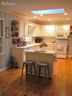 Before & After: A DIY Kitchen Island Makeover!