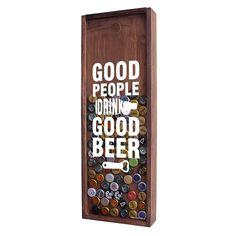 Quadro / Moldura Porta Tampinhas de cerveja - 22x61