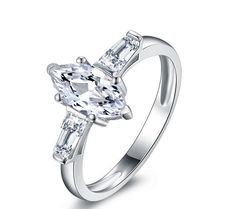 Stone: SONA DIAMOND(Top imitation diamond) Total Carat Weight : 1ct Metal: Sterling silver Metal Purity: 92.5% sterling silver 18K white gold plated