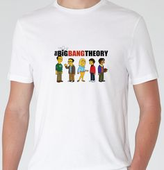 Mens t-shirt tee - the big bang #theory the #simpsons - tv - gift - free #deliver,  View more on the LINK: http://www.zeppy.io/product/gb/2/322135734895/