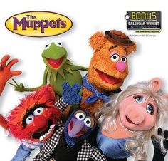 LOVE this 2013 The Muppets calendar. Every Muppet fan ought to own one, LOL!