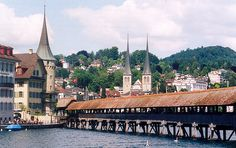 Lucerne is built on the shores of a crystal lake with the Alps rising in the background. Its views of the Alps have made it a popular tourist destination. Explore the famous Mill Bridge on a walking tour through the old town, shop, or just enjoy a cup of coffee and take in the view. Lucerne is Swiss hospitality at its best in a scenic setting. The Kaiserslautern USO has a tour to Lucerne Saturday, February 9th. Stop by any USO office to sign up.  (Photo by Roger Wollstadt)