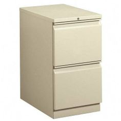 "HON Brigade Standard Height Pedestal - 15"" x 22.87"" x 28"" - 2 x File Drawer(s) - Security Lock - Putty by HON Products. $300.27. HON Brigade Standard Height Pedestal - 15"" x 22.87"" x 28"" - 2 x File Drawer(s) - Security Lock - Putty Mobile pedestal with R-pull design fits under standard HON Initiate, 38000 Series and worksurfaces. File drawers have one follower block, one crossrail, high sides for filing front-to-back, and ball-bearing suspension with 90 percent extension. Pedesta..."