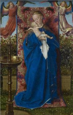 Madonna at the Fountain - Jan van Eyck