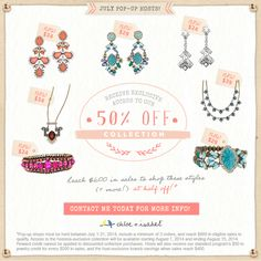 Host a pop-up shop with me to shop this collection at 50% off! Contact me at pearlboutiquec.i@gmail.com and visit pearl.chloeandisabel.com