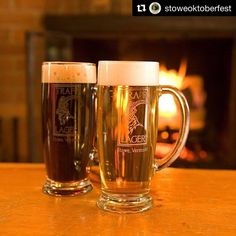 #Repost @stoweoktoberfest ・・・ A beautiful sight. With @vontrappbrewing #beer at #Oktoberfest this year, you too can enjoy the sight! And Taste...and Sound...and Smell... #stowelocal