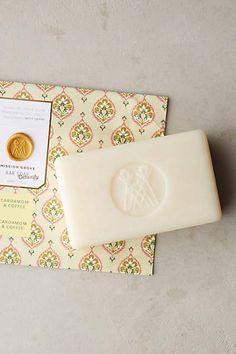 Mission Grove Bar Soap -cardamom & coffee - anthropologie.com