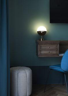 Détails mobilier - Hôtel Bachaumont