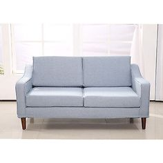 HOMCOM Sofa Couch Loveseat Contemporary Modern Living Room Lounge Furniture Home