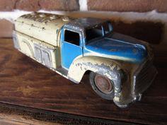 Antique Toy Truck Vintage Toy Truck Tanker Gasoline