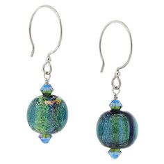 Bead and color combination is perfect. Shows off the pretty glass to it's best.