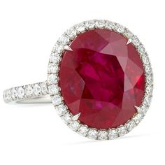 Bayco Mozambique Ruby Oval Ring with Diamonds (378,520 CAD) ❤ liked on Polyvore featuring jewelry, rings, oval ruby ring, cocktail rings, statement diamond rings, oval ring and wide-band diamond rings
