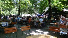Augustiner Keller Garten, the oldest in Munich $1