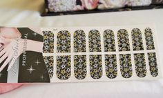 stars nail wrap 3d nail art 16 pcs in a pack by GlamourFavor