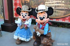 Frontier land Mickey And Minnie Mickey And Minnie Love, Mickey Mouse, Disney Pixar, Disney Characters, Fictional Characters, Small World, Disney Love, Happy Halloween, Projects To Try