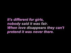 It is different for boys..boys will just call whoever is left in their phone and move on while a girl mourns the loss.