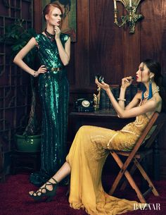 #green #sequins | by an lee
