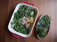 五味薬味をかわいいフードコンテナ等にたくさん作り置き。冷蔵庫に常備しておきたいですね。