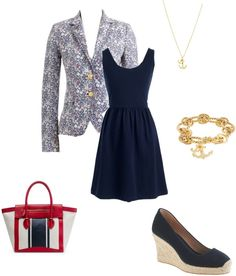 """""""Liberty and Villa Dress"""" by classicprep on Polyvore"""
