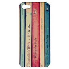 iphone 4/4s iphone 5 case vintage books pink blue plastic case - Childhood Memories iphone Case