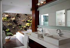 baño principal : Baños de estilo moderno de Taller Luis Esquinca
