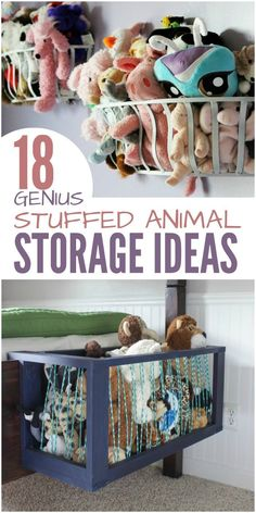 Is your child's room overflowing with stuffed animals? It's been a real challenge for us. Our son has outgrown most of his stuffed toys, but he isn't ready to let go of them. He's a sentimental kid. So, in our search for stuffed animal storage ideas, we d