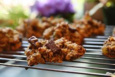 Chocolate Bird Seed Cookies
