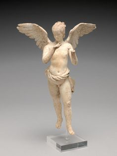 Statuette of flying Eros. Date: 200 B.C. — 101 B.C.  Hellenistic.
