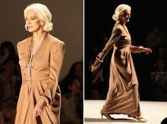 Resultado de imagen de senior and fashion