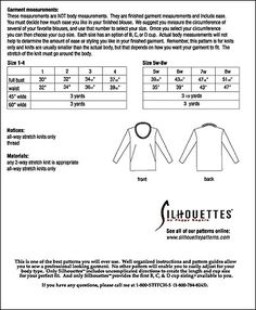Silhouette Patterns, Inc. - Valerie Top with rolled neck band