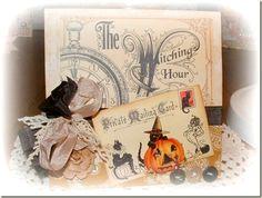 Vintage Halloween Cards | HalloweenCards-Elizabeth-Droege