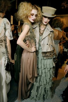 Touch & Strut Baby • Christian Dior F/W 2010 Posted by tiled