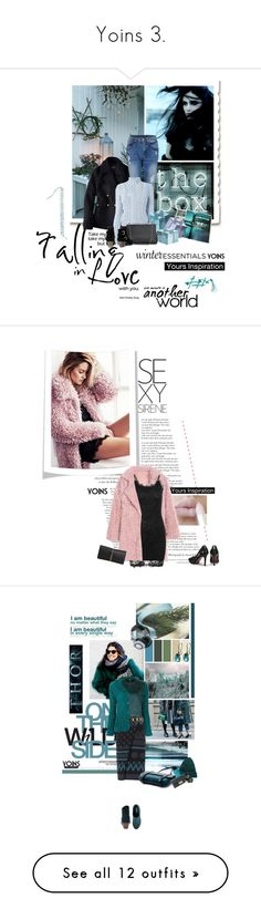 """""""Yoins 3."""" by lacas ❤ liked on Polyvore featuring yoins, moda, Seletti, American Eagle Outfitters, Altuzarra, military, militarychic, winterstaples, Lauren Conrad y Nina Ricci"""