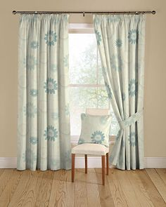 Vibe 54 Turquoise Curtains
