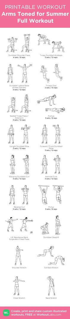 With 6 Triceps &shoulders workouts, followed by 6 Biceps &Back workouts