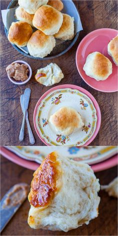 The Best Soft and Fluffy Honey Dinner Rolls - Soft. fluffy rolls brushed with sweet honey butter! Truly the best dinner rolls ever. They disappear so fast at holiday meals and parties!