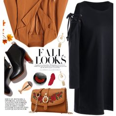 Fall by yexyka on Polyvore featuring polyvore, fashion, style, Rituel de Fille, Charlotte Tilbury, H&M and clothing