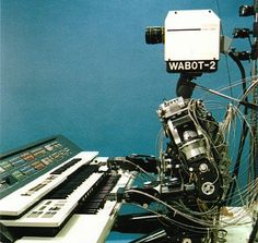 The WABOT-2 doin' some electronic music