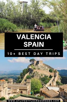 Valencia´s vibrant and cosmopolitan vibe might be just too much at times. How about a few day trips from Valencia to explore the region? The Best Day Trips From Valencia, Spain Europe Destinations, Europe Travel Tips, European Travel, Travel Guides, Travel Packing, Travel Rod, Travel Outfits, Beach Travel, Travel Hacks